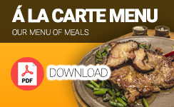Download Á la carte menu